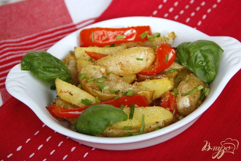 Фото приготовление рецепта: Картофель по-итальянски шаг №5