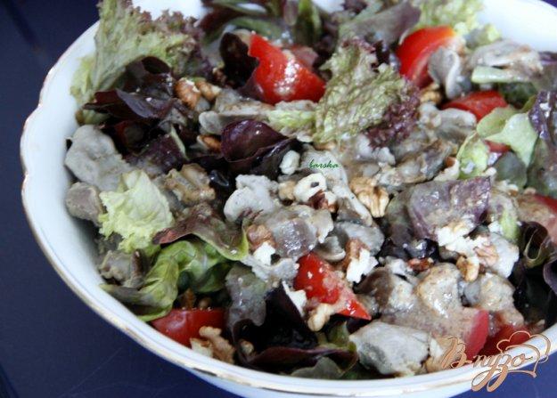 Рецепт Перигорский салат. Salade perigourdine.