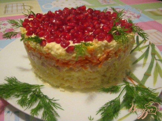 """Рецепт Салат """"Красная Шапочка"""""""