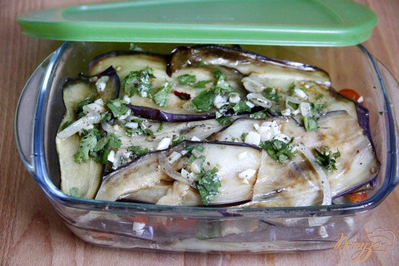 Фото приготовление рецепта: Баклажаны по-грузински шаг №7