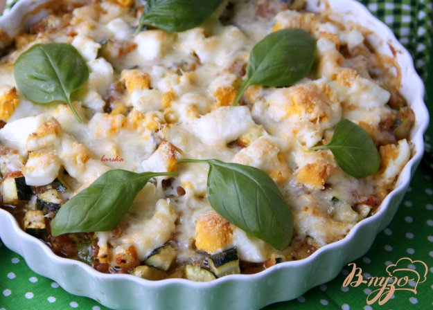 фото рецепта: Цукини, запечённые с томатным соусом  по-итальянски