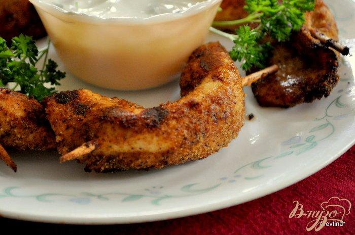 Фото приготовление рецепта: Курятина на шпажках шаг №3