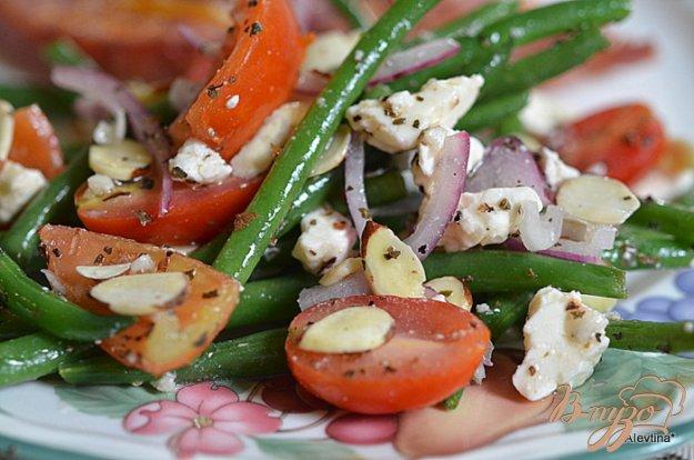 фото рецепта: Салат  с зеленой фасолью