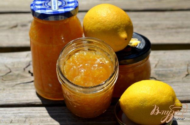 фото рецепта: Джем лимонов Мейера с шампанским