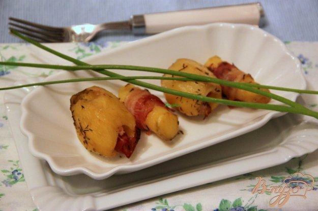 Рецепт Запеченый картофель с беконом от Джейми