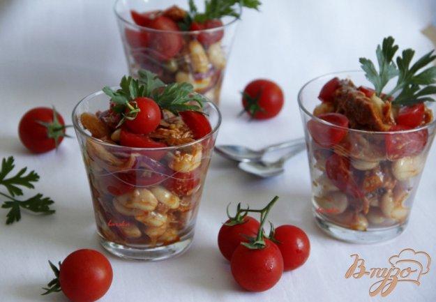 Рецепт Итальянский салат с тунцом и помидорами
