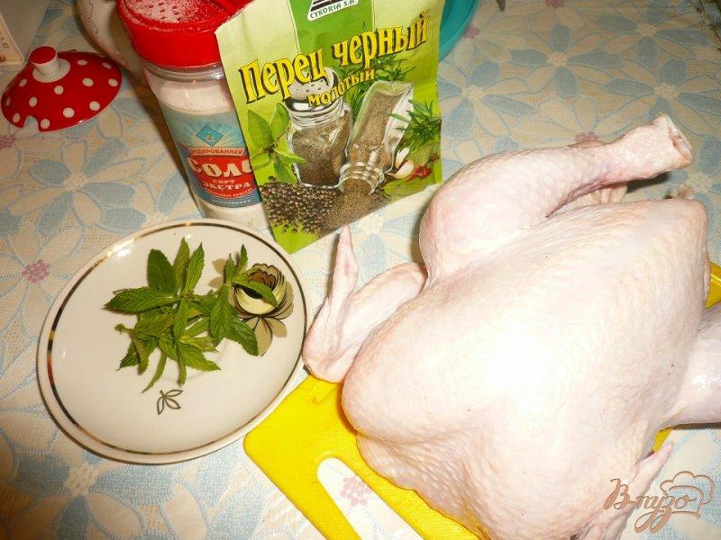Фото приготовление рецепта: Цыпленок жареный в духовке шаг №1