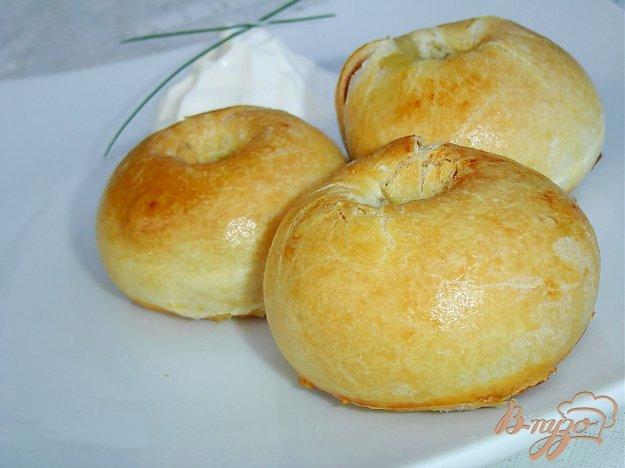 фото рецепта: Кныши с начинкой из картофеля