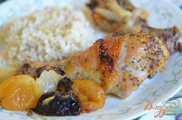 Рецепт Курица с сухофруктами
