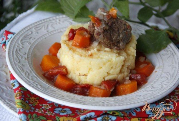 фото рецепта: Говядина с морковью (Boeuf aux carottes)