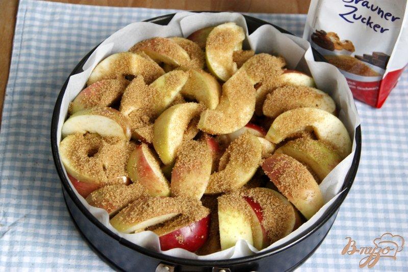 Фото приготовление рецепта: Яблочный пирог  от  Т. Л. Толстой шаг №3