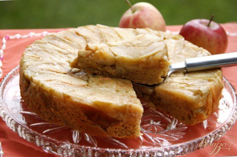 Фото приготовление рецепта: Яблочный пирог  от  Т. Л. Толстой шаг №8