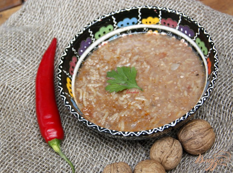 Фото приготовление рецепта: Суп харчо шаг №1