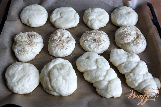 Фото приготовление рецепта: Немецкие булочки шаг №6
