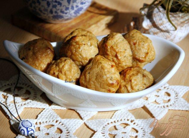 фото рецепта: Куриные котлетки с яблочком