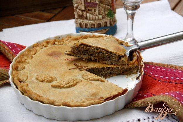 Рецепт Французский пирог с мясом и красным вином