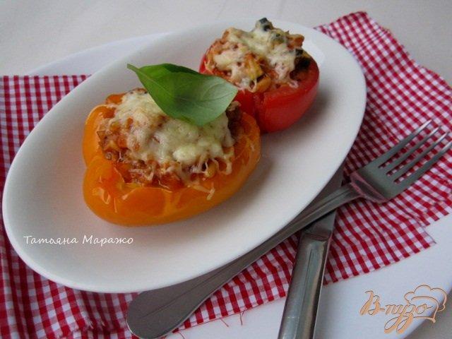 Фото приготовление рецепта: Фаршированные овощи шаг №8
