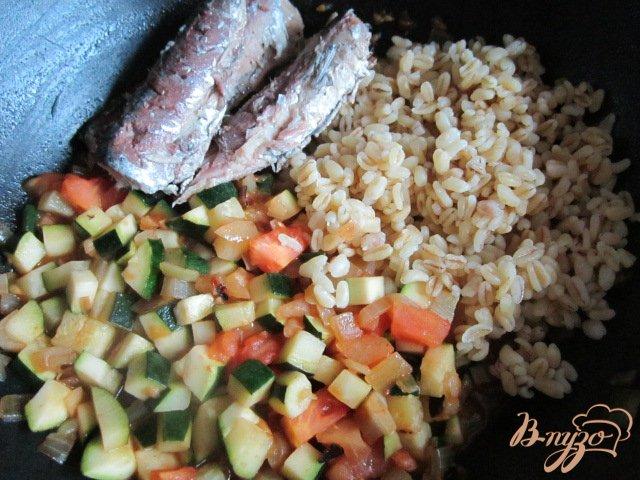 Фото приготовление рецепта: Фаршированные овощи шаг №3