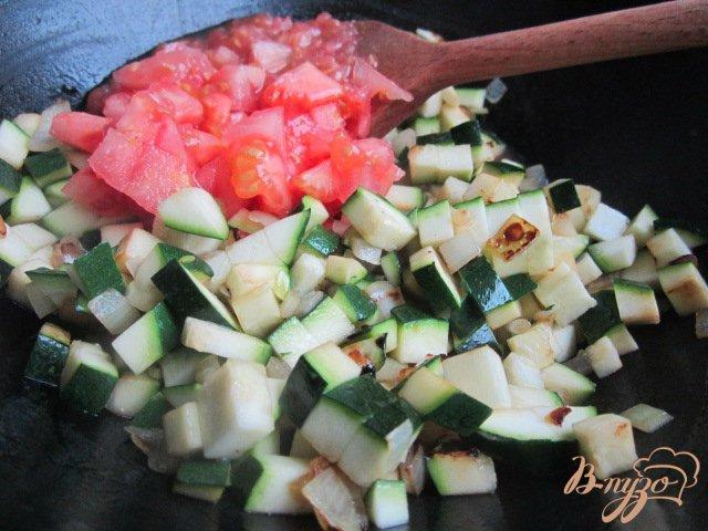 Фото приготовление рецепта: Фаршированные овощи шаг №2