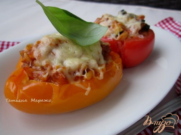 фото рецепта: Фаршированные овощи