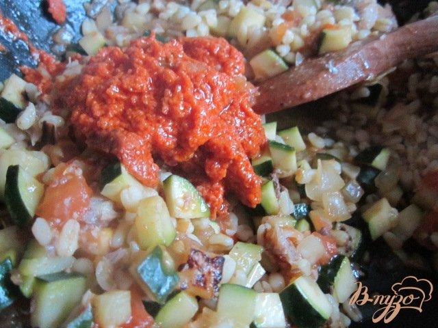 Фото приготовление рецепта: Фаршированные овощи шаг №4