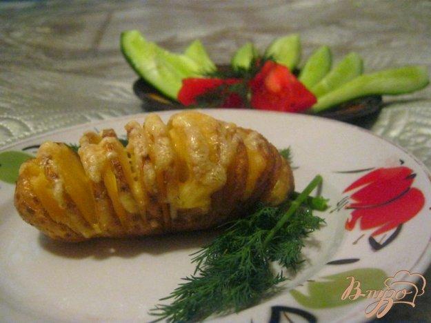 фото рецепта: Картофель-гармошка