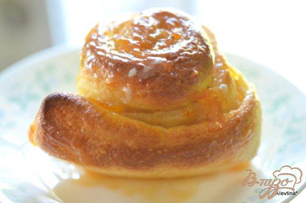Рецепт Булочки с апельсиновым вкусом