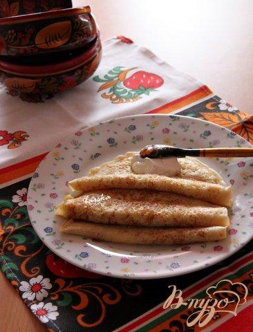 Рецепт Ажурные блины