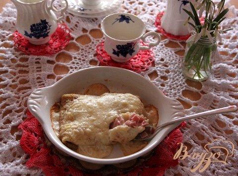 Рецепт Блины запечённые по пикардийски Ficelle Picarde