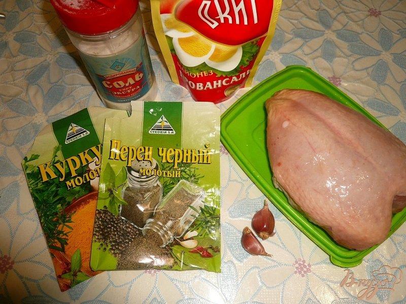 Фото приготовление рецепта: Куриная грудка с черносливом шаг №1