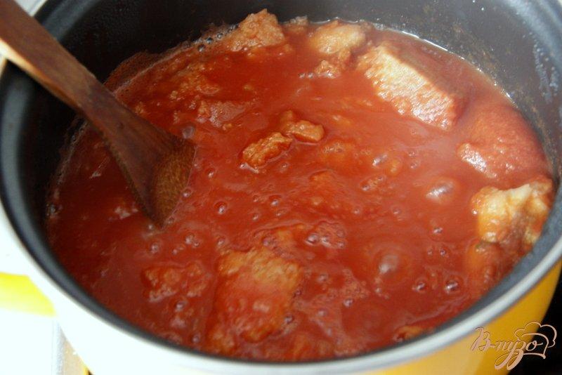 Фото приготовление рецепта: Тосканский густой суп