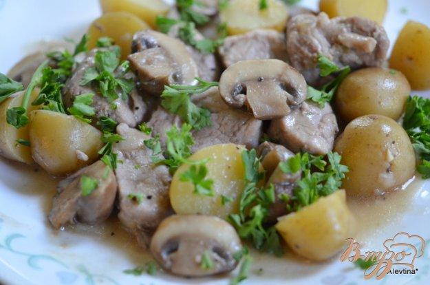 фото рецепта: Ужин с картофелем и свининой