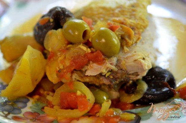 Рецепт Тажин из курицы