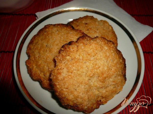 фото рецепта: Хрустящее овсяное печенье