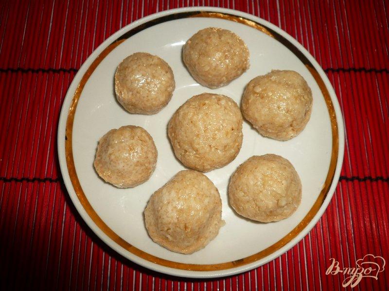 Фото приготовление рецепта: Хрустящее овсяное печенье шаг №7