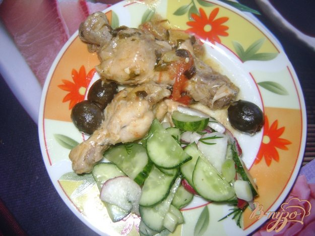 Рецепт Курица с лимоном и травами