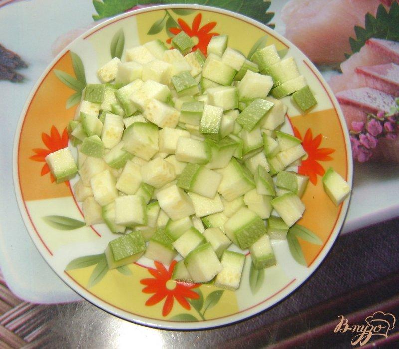 Фото приготовление рецепта: Овощной суп шаг №6