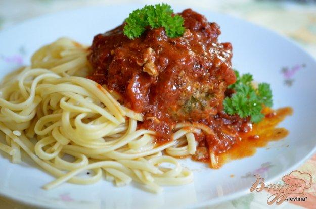 Рецепт Фрикадельки с сыром по-итальянски