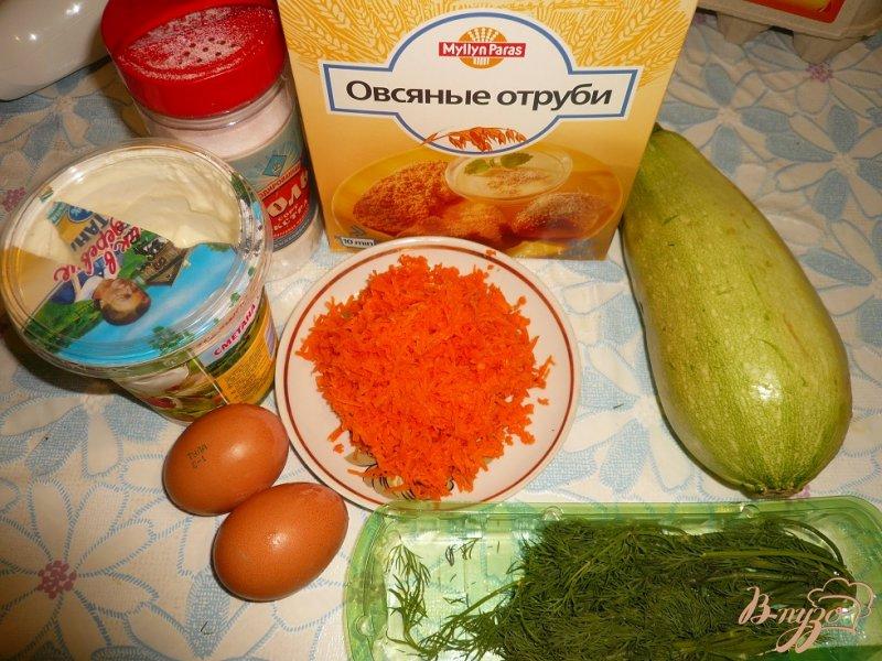 Фото приготовление рецепта: Овощные кексы шаг №1