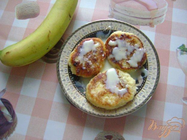 Рецепт Сырники с бананами