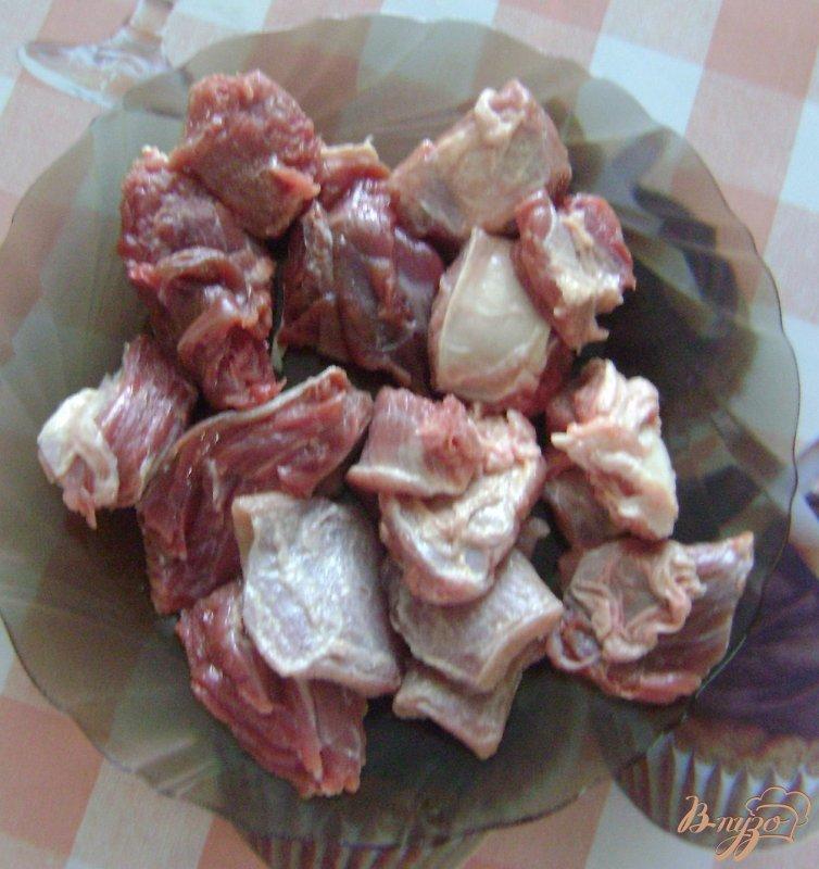 Фото приготовление рецепта: Шурпа с говядиной шаг №2