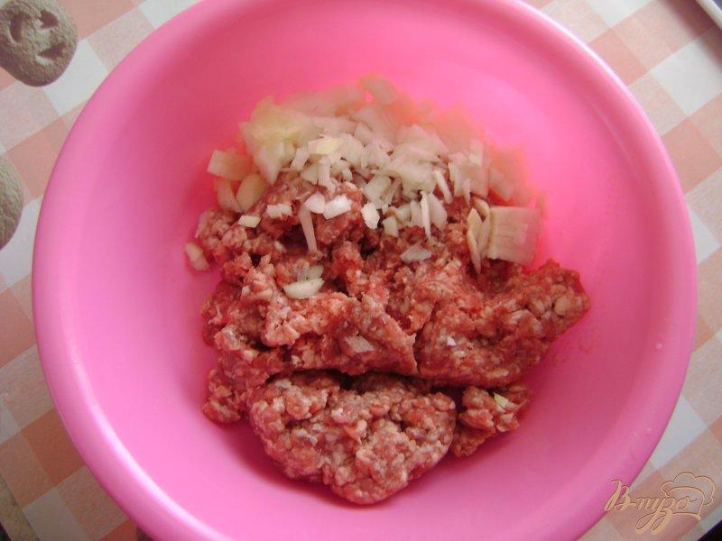 Фото приготовление рецепта: Суп с фрикадельками и паутинкой шаг №1
