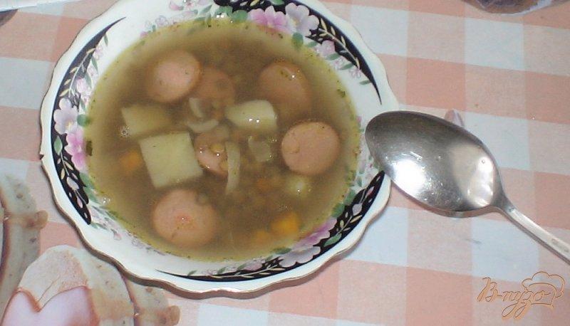 Фото приготовление рецепта: Суп с чечевицей шаг №6