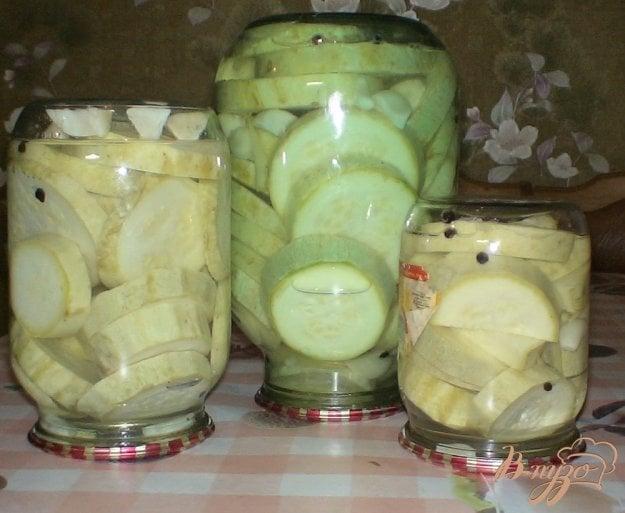 фото рецепта: Кабачки маринованные