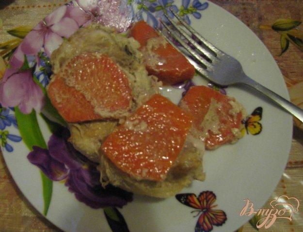 Рецепт Антрекот с морковью в чугунке