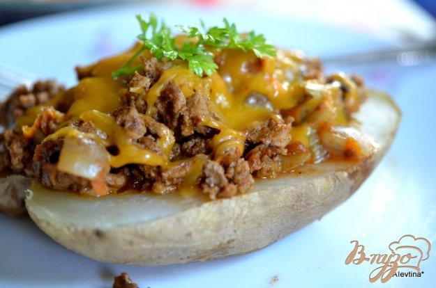 фото рецепта: Слоппи запеченный картофель