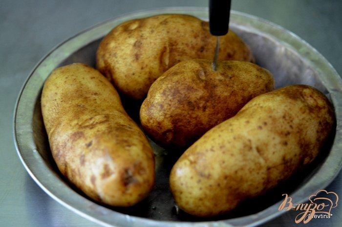 Фото приготовление рецепта: Слоппи запеченный картофель шаг №1