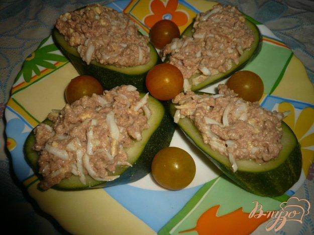 Рецепт Канапе с печенью трески