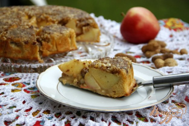 Рецепт Венский яблочно-ореховый пирог