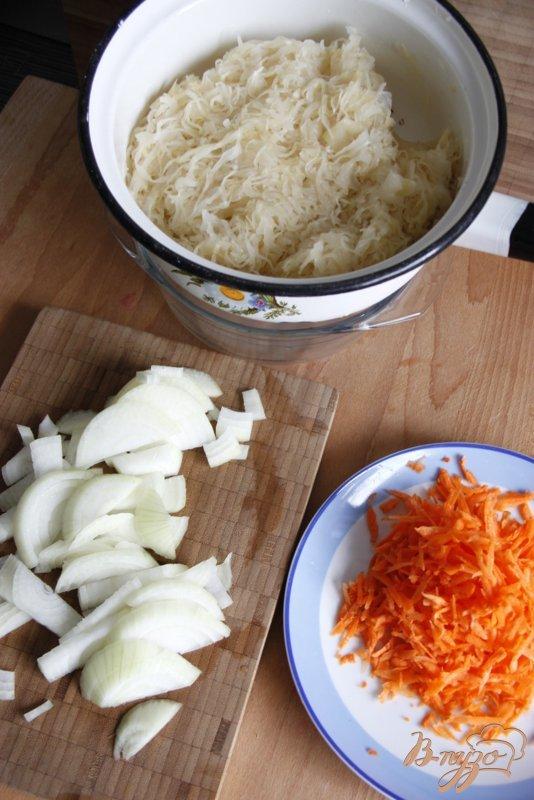 Фото приготовление рецепта: Капустняк шаг №3